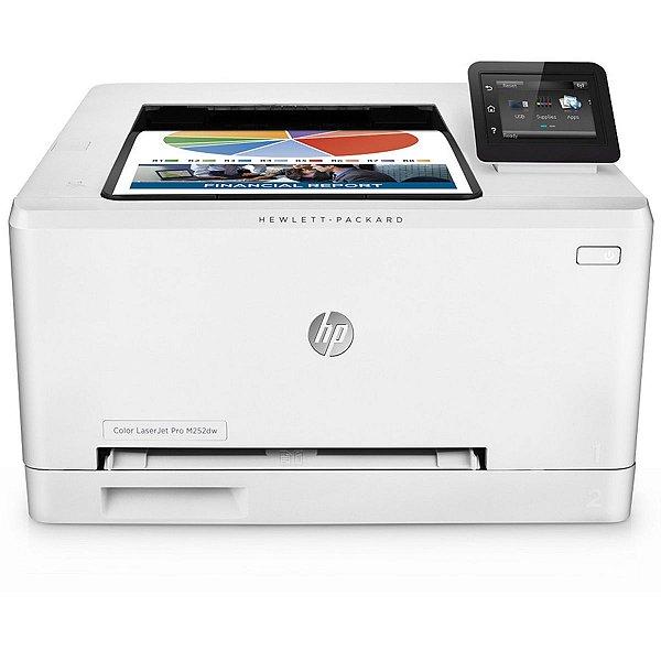 Impressora HP Laserjet Color M252DW Eprint 110V Branca ( substituta da HP 1025 )