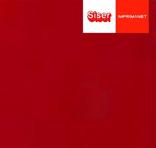 P.S. Filme de Recorte Vermelho SISER - ( 1mt X 50cm ) - A0007