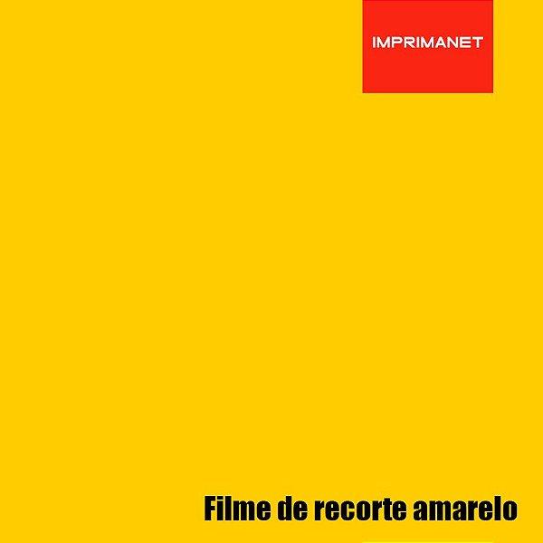 Filme de recorte Power PU AMARELO