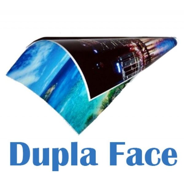 Papel Fotográfico Dupla face A4 220 gr Brilhante á prova d'água - 20 folhas
