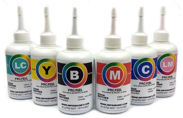 Tinta Original InkTec para impressora EPSON / Brother (Corante) Proteção UV - 130ml