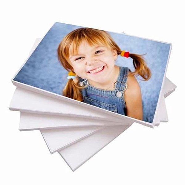 Papel Fotográfico 115 gr A4 a prova d'água - Pacote com 20 folhas