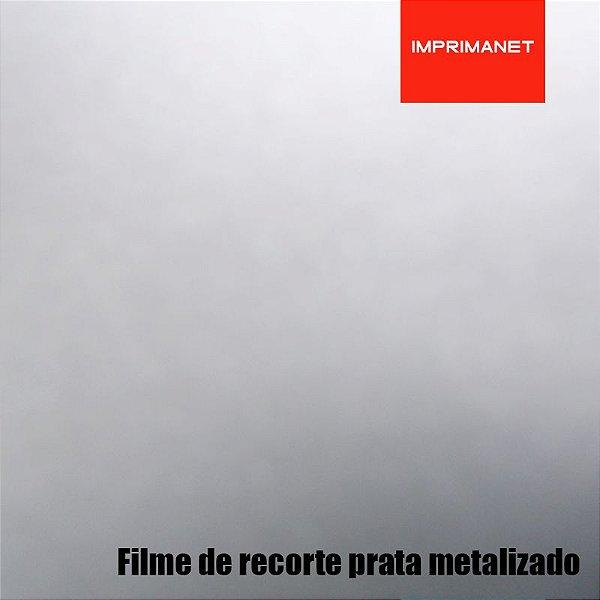 Filme de recorte Power PRATA METALIZADO