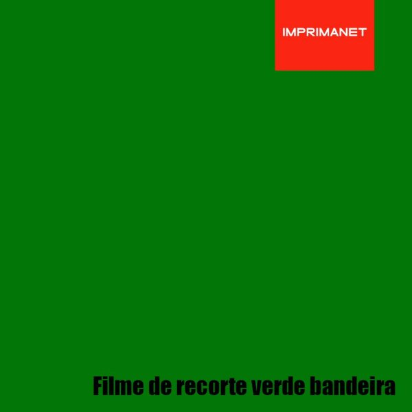 Filme de recorte Power VERDE BANDEIRA