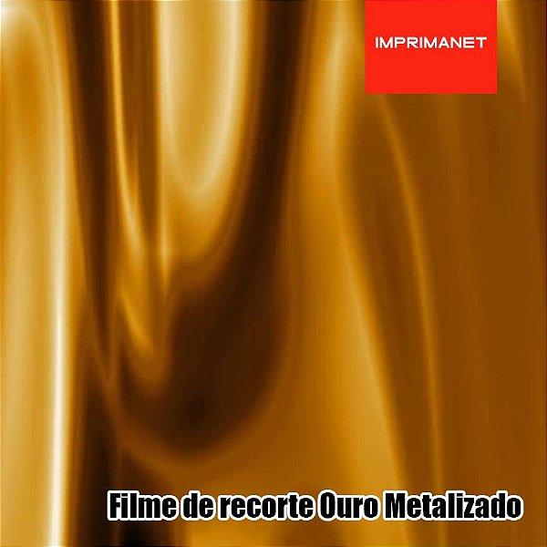 Filme de recorte Power OURO METALIZADO