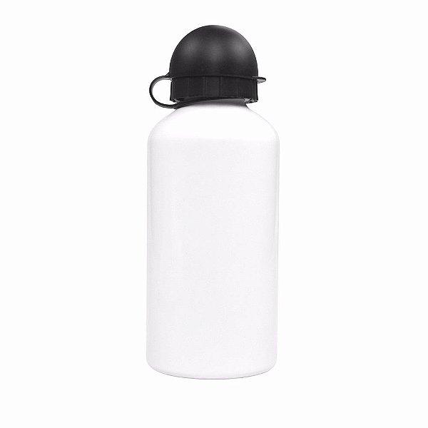 Squeeze branca para sublimação - tipo bolinha - garrafa de 500ml