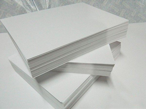 Papel Fotográfico Couche fosco - 160gr - 100 folhas ( para impressora laser )