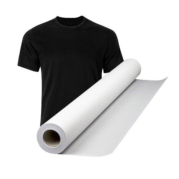 Rolo de Papel Transfer OBM para personalização de tecidos escuros ( algodão e poliéster ) - 1mt x 31cm