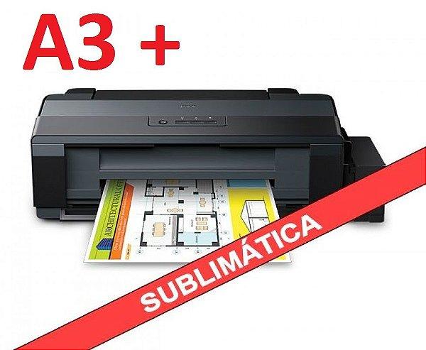 Impressora EPSON L1300 A3 ECOTANK com 500ml de Tinta sublimática Original Inktec ( Substituta da EPSON T1100 )
