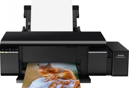 Impressora Fotográfica EPSON L805 ECOTANK + wifi + rede + impressão em CD ( substituta da EPSON L800 )