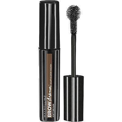 Máscara de Sobrancelhas Maybelline Brow Drama Cor Soft Brown