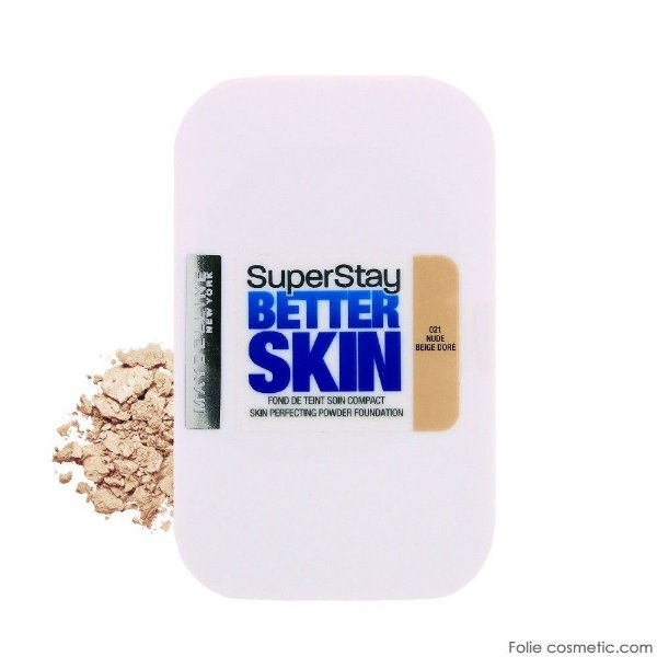 Base Compacta Maybelline Super Stay Better Skin Cor Nude