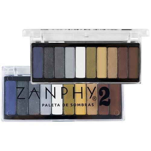Paleta de Sombras Zanphy 2 - 10 Cores