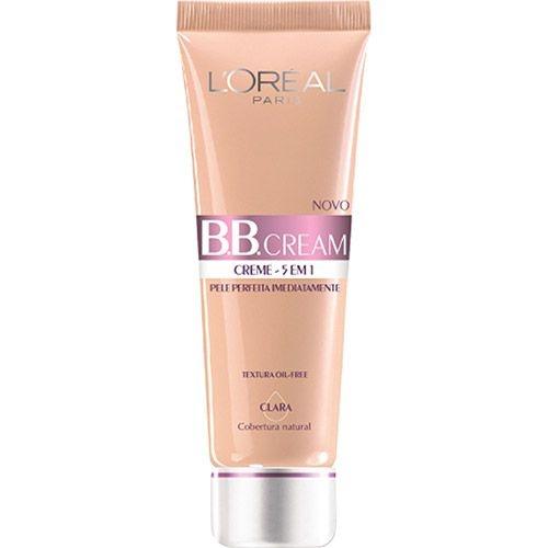 BB Cream L´Oréal Paris 5 em 1 FPS 20 50ml Cor Clara