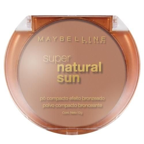 Pó Bronzeador Maybelline Super Natural Sun Cor Golden Sun