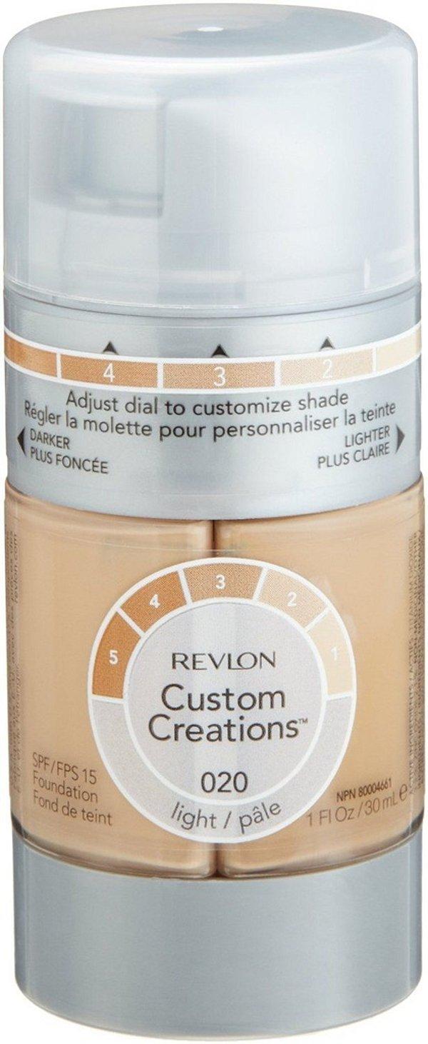 Base Revlon Custom Creations 30ml FPS 15 Cor 020