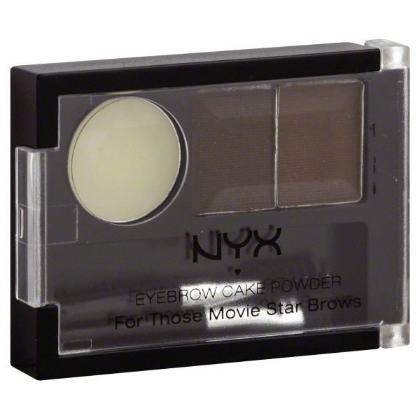 Corretor de Sobrancelha NYX Eyebrow Cake Powder Cor Dark Brown