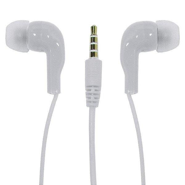 Fone de Ouvido Superbass New Branco - Haoqing