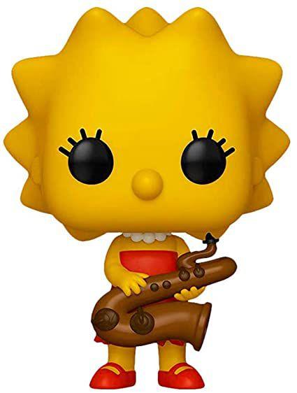 Funko POP Lisa Simpson - Os Simpsons #497