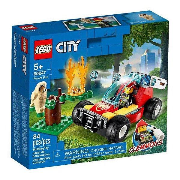 Lego City - Floresta Em Chamas #60247 ( 84 Peças)