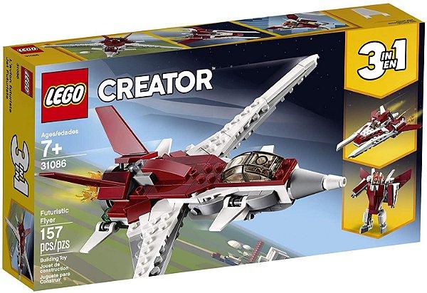 Lego Creator Avião Futurista 3 Em 1 #31086