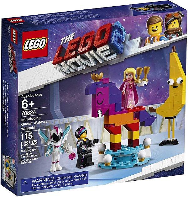 Lego Movie 2 Apresentação da Rainha Flaseria Fal'Siani #70824