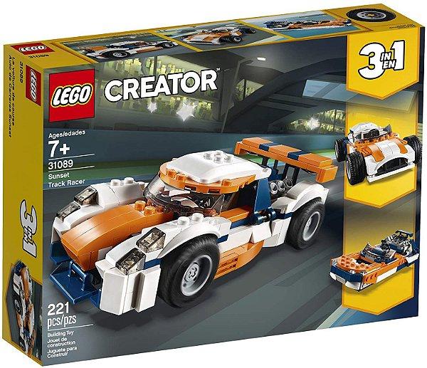 Lego Creator Carro de Corrida Sunset  3 em 1 #31089