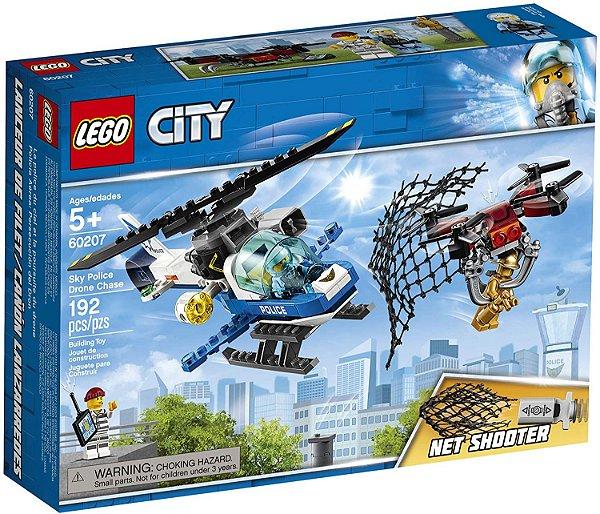 LEGO City - Polícia Aérea - Perseguição de Drone #60207
