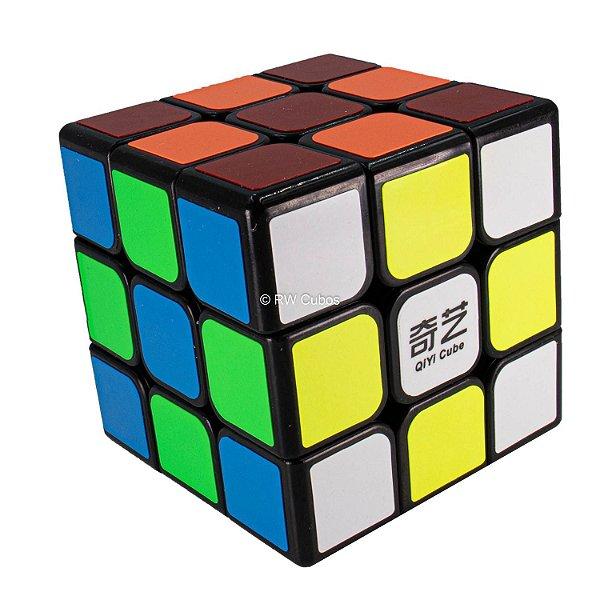 Cubo Mágico Profissional 3 - 3x3x3 Preto - Qiyi