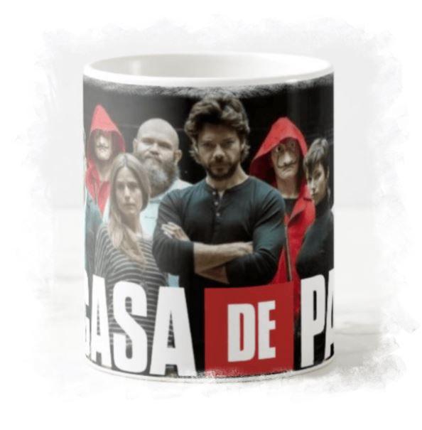 Caneca de porcelana La Casa De Papel - 211299