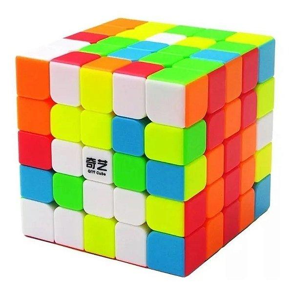 Cubo Mágico Profissional 5 - 5x5x5 Colorido - Qiyi