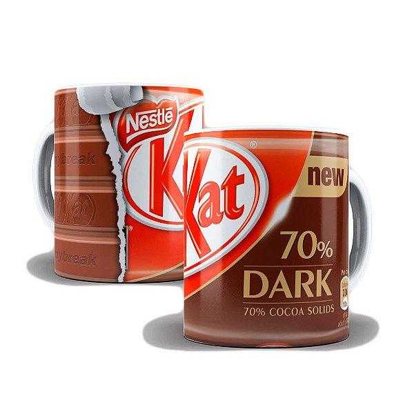 Caneca de Porcelana 325ml Personalizada Kitkat