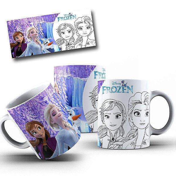 Caneca de Porcelana Frozen - 212171
