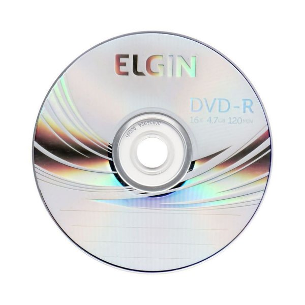 Mídia de Dvd Rw 4x - Elgin