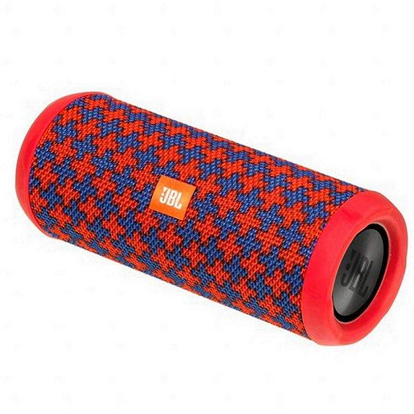 Caixa de Som JBL Flip 4 Bluetooth à Prova D'água Malta Edição Especial