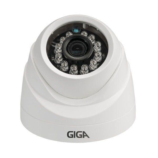 Câmera Dome Open Hd Plus 3,2mm 20mts 720p Gs0011 - Giga