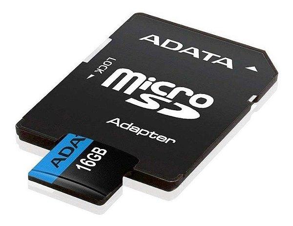 Cartão de Memória 16gb Micro Sd com 1 Adapter - Adata