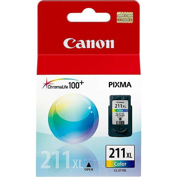 Cartucho de Tinta Canon 211xl (Cl211xl) Color 13ml
