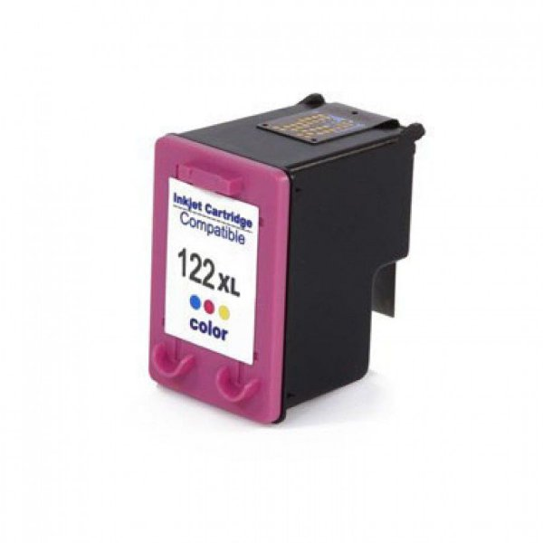 Cartucho de Tinta Compativel HP 122xl (CH564) Colorido 12ml