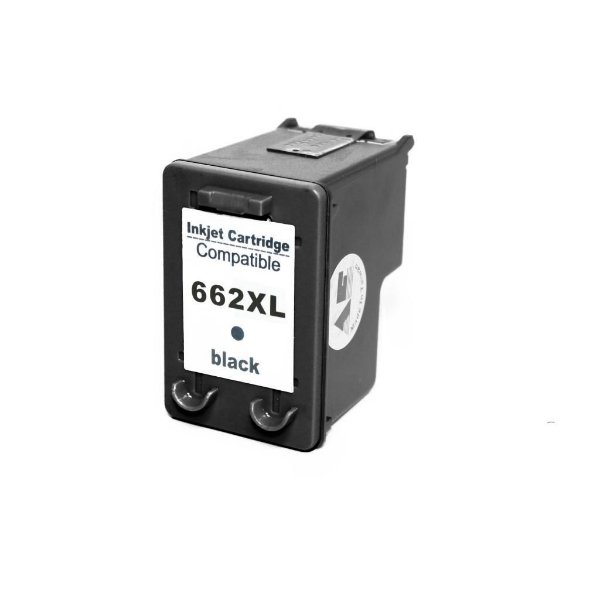 Cartucho de Tinta Compativel HP 662xl (CZ105) Preto 11-15ml