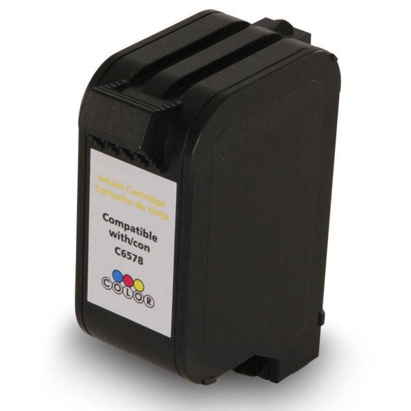 Cartucho de Tinta Compatível HP 78 (C6578) Colorido 30ml