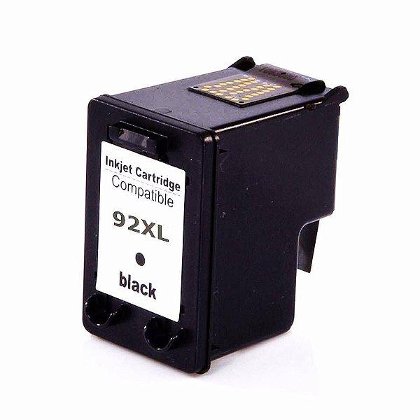 Cartucho de Tinta Compatível HP 92 (9362) Preto 13ml