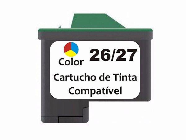 Cartucho de Tinta Compatível Lexmark 26 (10N0026) Color 18ml