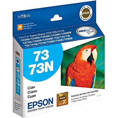 Cartucho de Tinta Epson 73 (To732) Ciano 5ml
