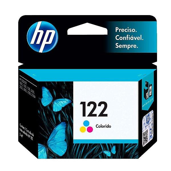 Cartucho de Tinta HP 122 (Ch562) Colorido 2ml