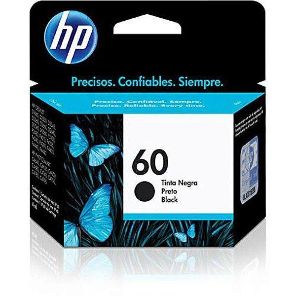 Cartucho de Tinta HP 60 (Cc640) Preto 4,5ml