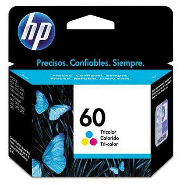Cartucho de Tinta HP 60 (Cc643) Colorido 6,5ml