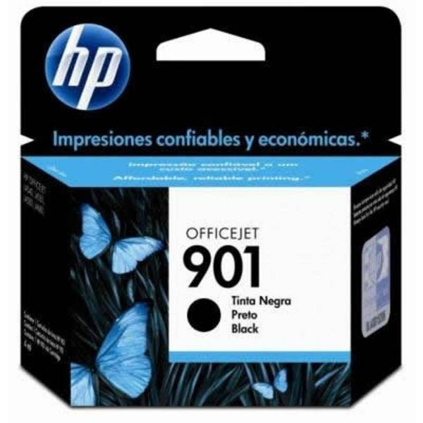 Cartucho de Tinta HP 901 (Cc653) Preto 4,5 ml