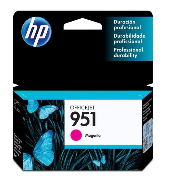 Cartucho de Tinta HP 951 (Cn051) Magenta 8ml