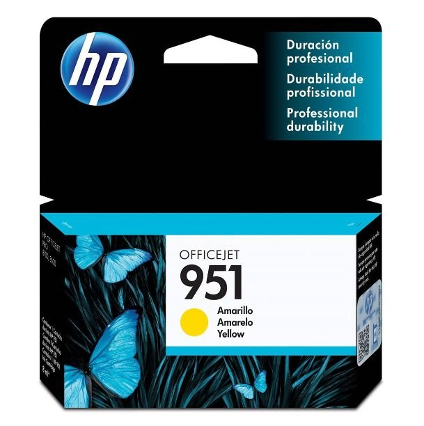 Cartucho de Tinta HP 951 (Cn052) Amarelo 8ml